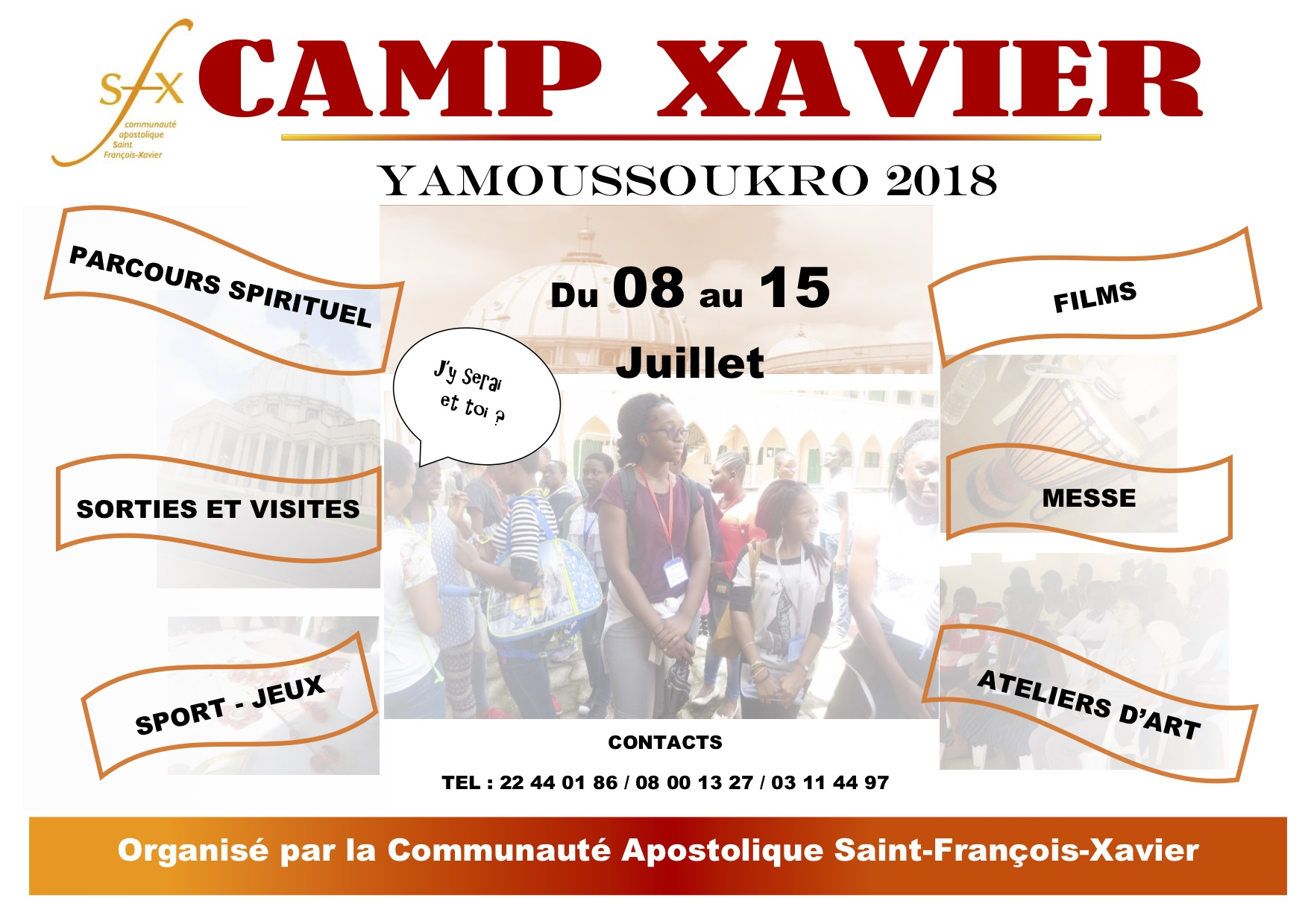 Camp xavier Abd 2018